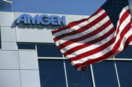 Amgen Falls 5%