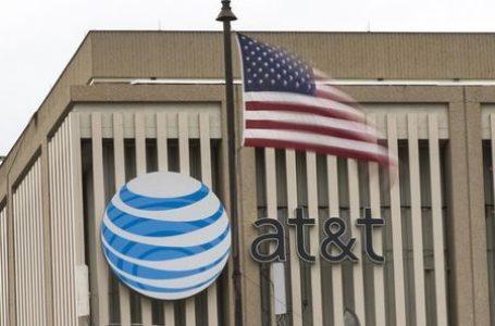 AT&T Falls 5%