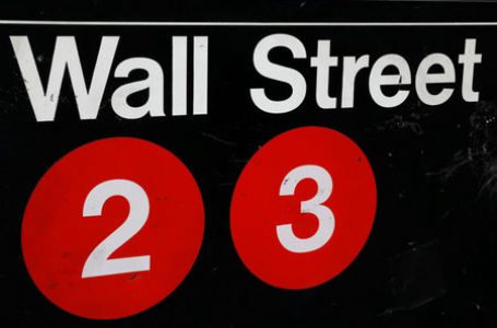 U.S. stocks higher at close of trade; Dow Jones Industrial Average up 3.19%